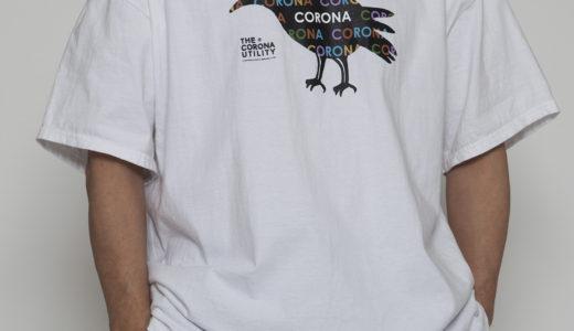 "【DELIVERY】CT072 – CORONA TEE ""CROW"""