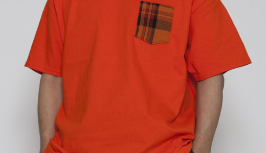【DELIVERY】CT076 - TEXTILE POCKET TEE
