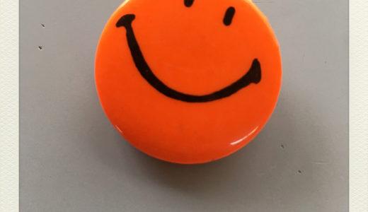 """SMILE"" ORIGINAL PINBACK BUTTON"