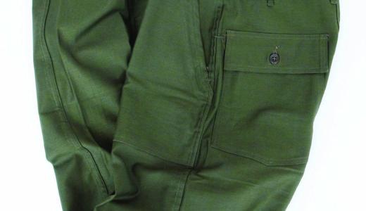 US MILITARY・BAKER PANTS for CORONA FATIGUE SLACKS