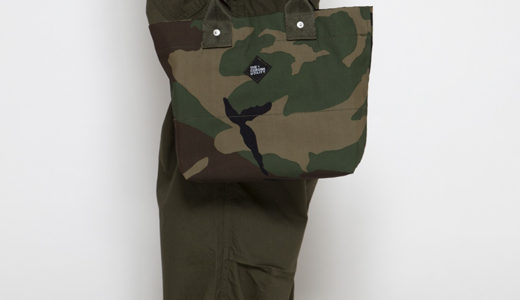 6.27 ONLINE STORE NEW ITEM / CORONA・MILK BAG x MIL-SPEC WOODLAND CAMOUFLAGE
