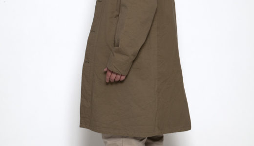 CORONA・UP DUSTER COAT w/TAKEYARI TWILL 2020FW