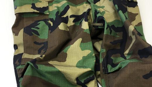 """FATIGUE SLACKS """"M-51 FIELD SLACKS"""" x M-81 WOODLAND CAMO"""